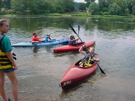 Kayak Team America!